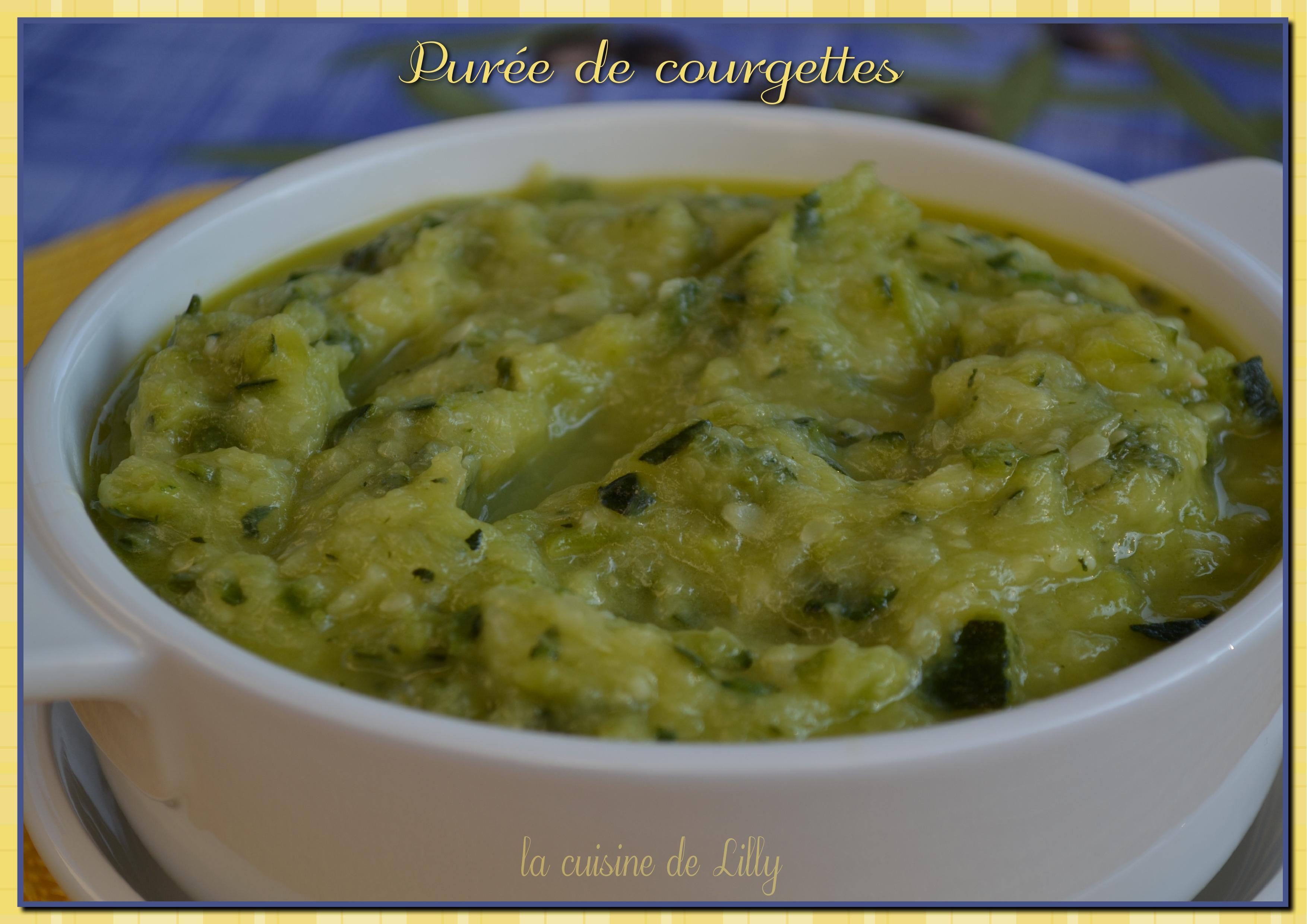 Recette thermomix pur e de courgettes au parmesan - Recette pour courgettes au thermomix ...