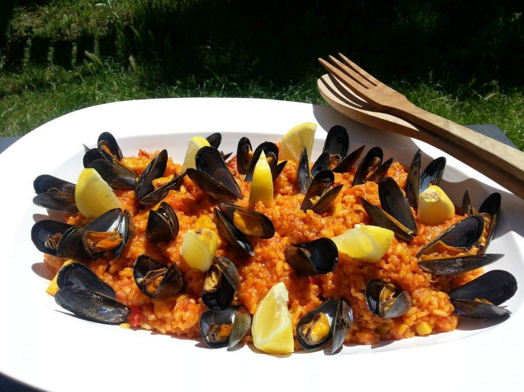 recette thermomix risotto aux fruits de mer. Black Bedroom Furniture Sets. Home Design Ideas
